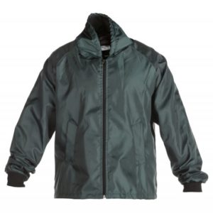 Bottle Green waterproof Jacket with mesh or fleece lining